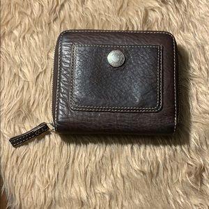 Vintage Coach Bi-fold Wallet